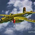 North American B-25j by Tommy Anderson