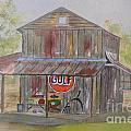 North Carolina Barn by Peggy Dickerson