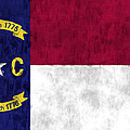 North Carolina Flag by World Art Prints And Designs