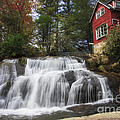 North Carolina Waterfall by Jill Lang