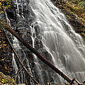 North Carolina's Crabtree Falls Autumn Colors by Bruce Gourley
