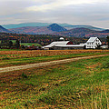 North Haverhill Farm In Fall by Nancy Griswold