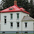 North Head Lighthouse Keepers Quarters by E Faithe Lester