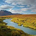 North Klondike River Flowing by Tim Fitzharris