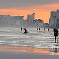 North Myrtle Beach At Sunset by Lydia Holly