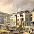 North Parade, From Bath Illustrated by John Claude Nattes