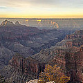 North Rim Sunrise Panorama 2 - Grand Canyon National Park - Arizona by Brian Harig