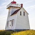 North Rustico Lighthouse by Elena Elisseeva