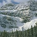 1m3536-north Side Of Crowfoot Mountain by Ed  Cooper Photography