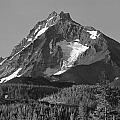 105615-north Sister Or,bw by Ed  Cooper Photography