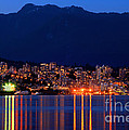 North Vancouver At Dusk by Terry Elniski