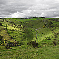North West - Along Cressbrook Dale by Rod Johnson