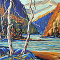 North West Lake By Prankearts by Richard T Pranke
