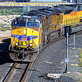 Northbound From Roseville At The Crooked Bridge by Jim Thompson