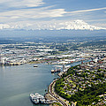 Northend And Downtown Tacoma, Port by Andrew Buchanan/SLP