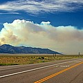 Norther Nevada Wildfire by Michael Rogers