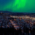 Northern Lights Over Whitehorse by Stephan Pietzko
