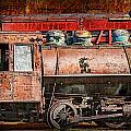 Northern Pacific Vintage Locomotive Train Engine by Randall Nyhof