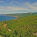 Northern Road Through Cape Breton Highlands Np-ns by Ruth Hager