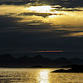 Norway Dramatic Evening Light by Fredrik Norrsell