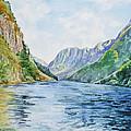 Norway Fjord by Irina Sztukowski