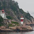 Norway Lighthouse 2 by CJ Middendorf