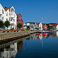 Norway Waterfront by Keith Lundquist