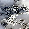 Norwegian Mountains From On High by Laurel Talabere
