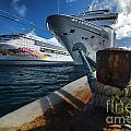 Norwegian Sky Carnival Sensation And Royal Caribbean Majesty by Amy Cicconi