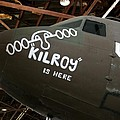 Nose Art Kilroy Was Here by David Dunham