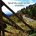 Not All Who Wander by Mike Flynn