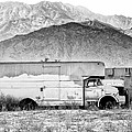 Not In Service Bw Palm Springs by William Dey