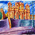 Noto Cathedral Sicily by Patrick O'Callaghan