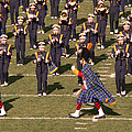 Notre Dame Band by David Bearden