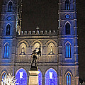 Notre-dame Basilica Of Montreal by Munir Alawi
