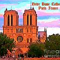 Notre Dame Cathedral Poster by John Malone