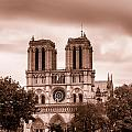 Notre Dame De Paris Toned by Georgia Fowler