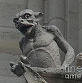 Notre Dame Gargoyle by Deborah Smolinske