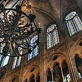 Notre Dame Interior by Jennifer Ancker