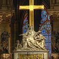 Notre Dame Pieta by Michael Kirk