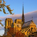 Notre Dame Sunrise by Mick Burkey