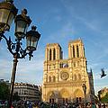 Notre Dame Tourists by Brian Jannsen