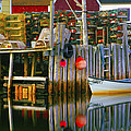 Nova Scotia Fishing Village by Glen Wilkerson