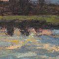 November Reflection - Hudson Valley by Gregory Arnett