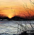 November Sunset by Barbara Jewell
