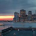 November Sunset by S Paul Sahm