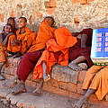 Novice Buddhist Monks by Venetia Featherstone-Witty