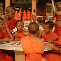 Novice Monks by Shaun Higson