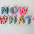 Now What - Magnetic Letters by David Lovins