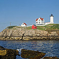 Nubble In The Day 16x20 by Geoffrey Bolte